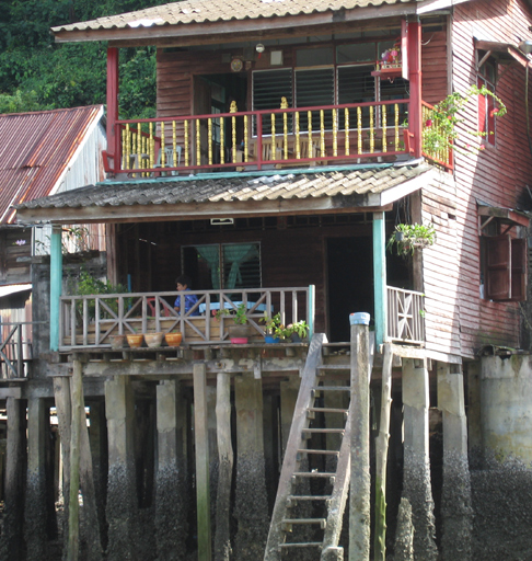Water front house in Ranong