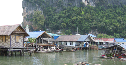 Panyee village in Phang Nga Bay