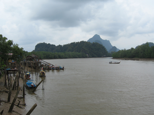 Fishing village on Phang Nga Bay