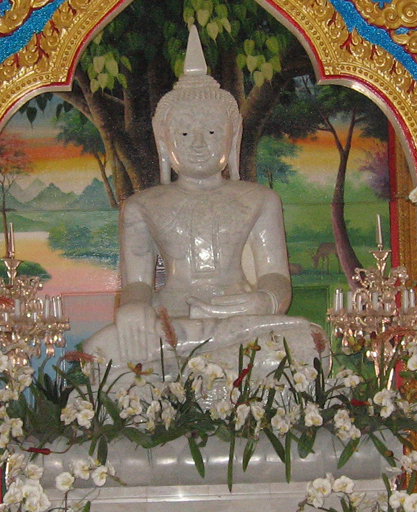 Buddha statue in Wat Chalong