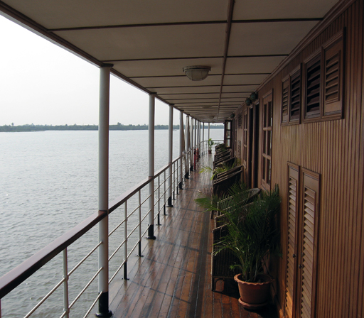 Second Deck of the Mekong Pandaw