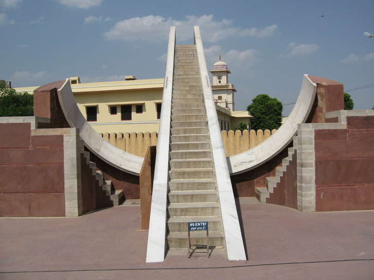 Sundial at the Jantar Mantar