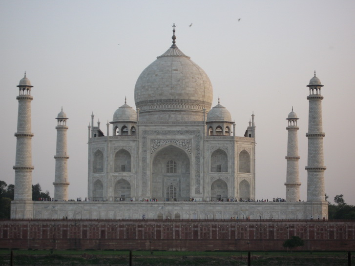 The central tomb of the Taj Mahal