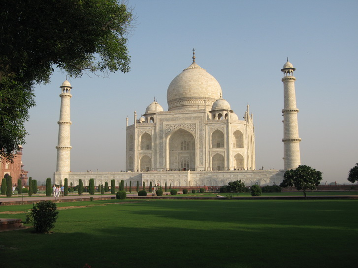 The Tomb of the Taj Mahal