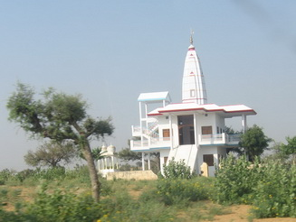 Jain temple in the desert