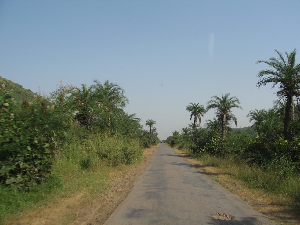 Road out of Bijaipur