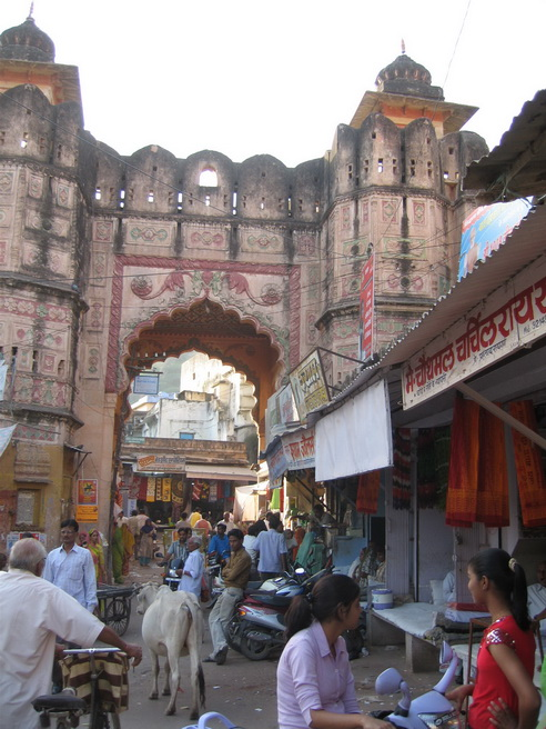 Bundi city gate.